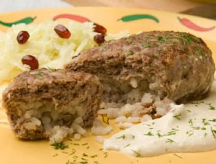 Рисовые зразы с фаршем рецепт с фото